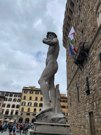 On CBM Tour you can visit Florence & see a replica of a famous Michelangelo's David during your walking tour