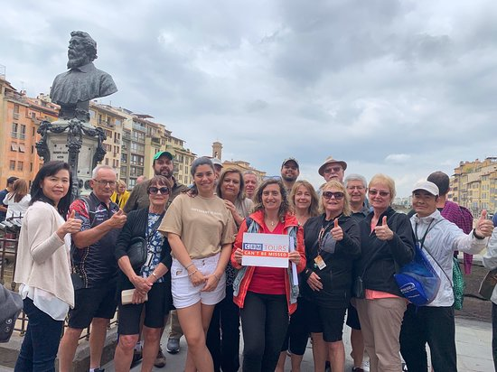 A wonderful group from Norwegian Jade visiting Florence during their port stop in Livorno