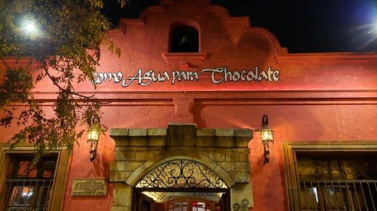 Restaurante Como Água  para Chocolate