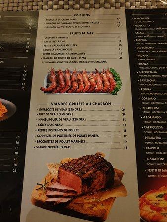 Nourriture excellent cadre atypique serveur super sympas.