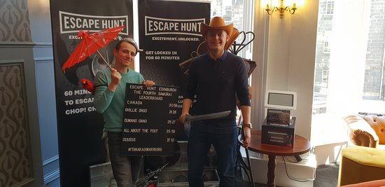 Good escape room with friendly staff