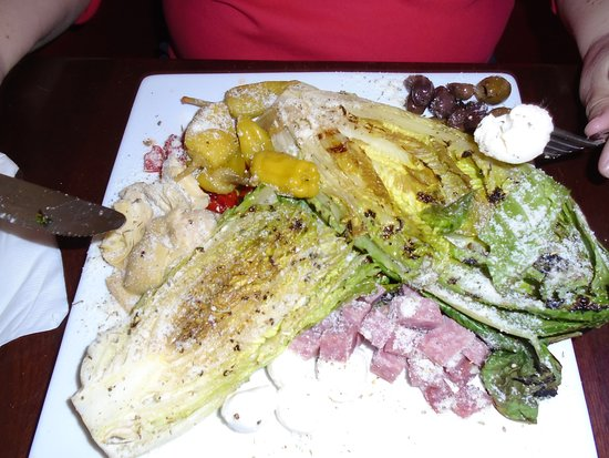 Village Tavern: Grilled Romaine Salad