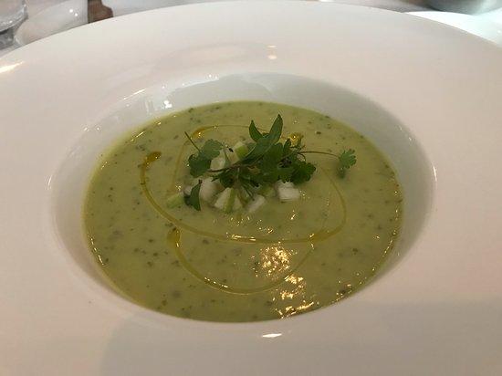 Restaurant Tandem: Avocado soup