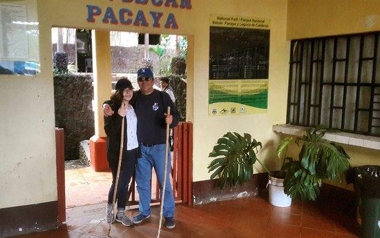 Escuintla, Guatemala: Hermoso día en él volcán de pacaya.