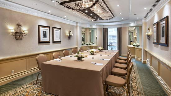Willard InterContinental: Meeting room