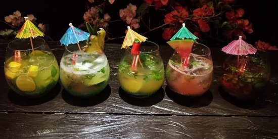Come over tonight and taste our new Mojito Flavours:  Strawberry | Watermelon | Pineapple | Mango | Tamarind  VELVET Ubud - Lunch & Dinner 12.30 pm til Midnight