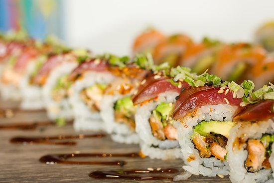 Neptune's Taphouse and Eatery: The Skipper roll.