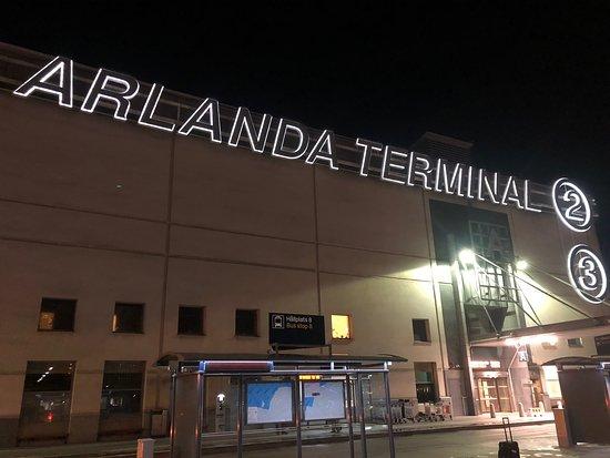 British Airways: Stockholm Arlanda Terminal 2.