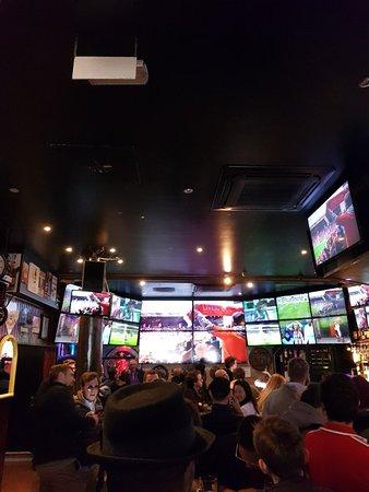 Busy bar.