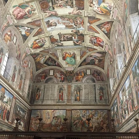 Fast Track - Vatican Tour with Museums, Sistine Chapel & Raphael rooms: Sixtinische Kapelle