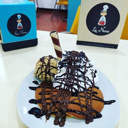 San Juan De Aznalfarache, Espanja: ¡Tortitas caseras! Acompañalas como más te guste!