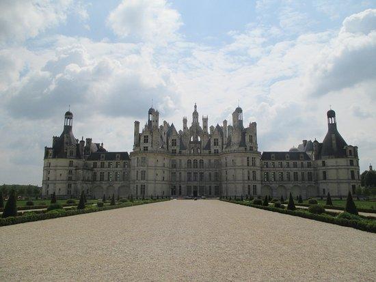 Côté parc du château