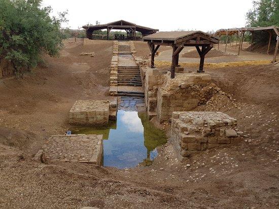 Al Jubaihah, Jordanie : Bethany Jordan River Baptism Site of Jesus
