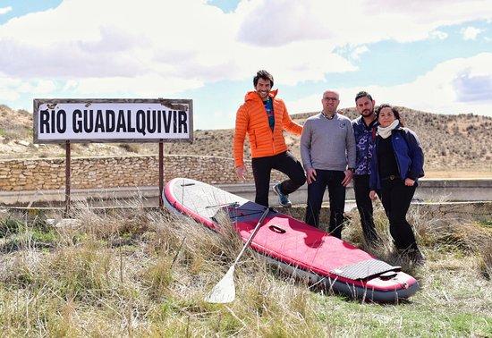 Nacimiento del rio Guadalquivir en Cañadas de Cañepla Maria Almeria