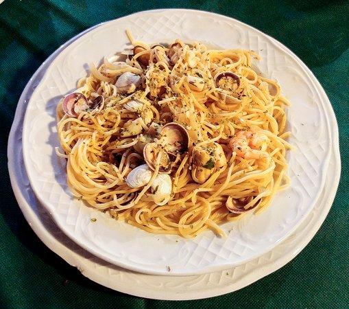 Gepetto - El Penoncillo: Spaghetti marinera