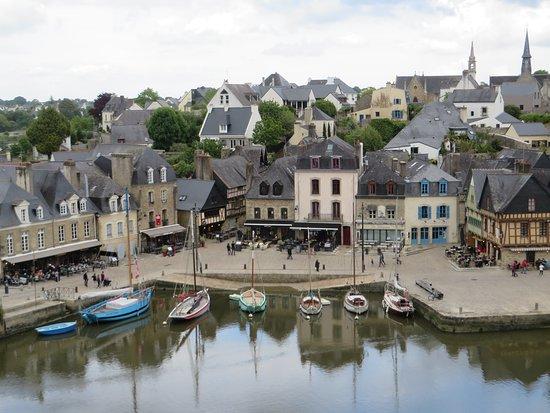 Port De St Goustan: Le port de Saint Goustan vu du haut d'Auray