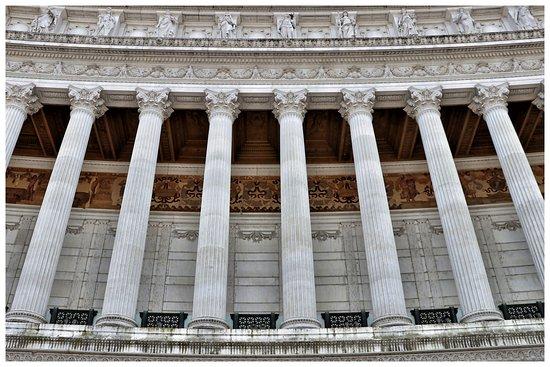Monumento a Vittorio Emanuele II: particolare