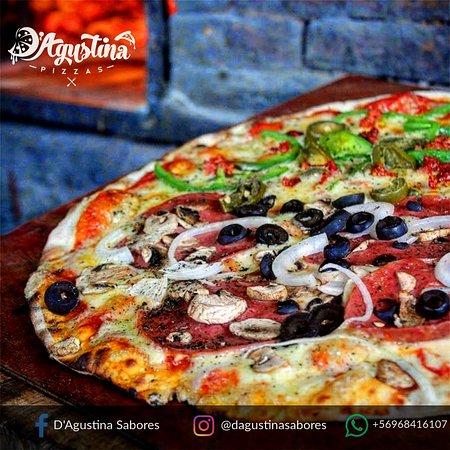 Pizzas xl masa delgada y crujiente