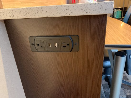 More outlets and USB ports  - Picture of Towneplace Suites