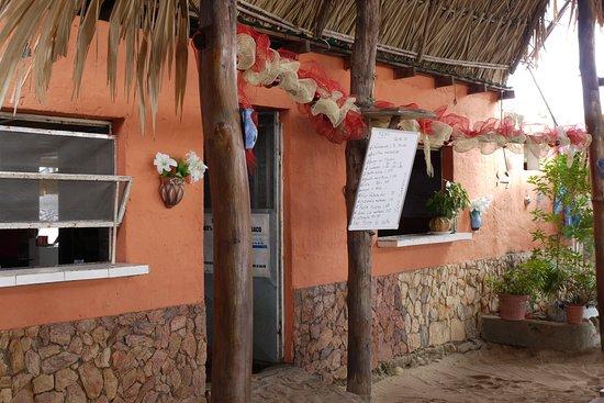Venezuela: Restaurace na pláži La Restinga