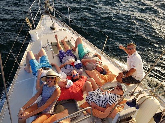 Tamarindo, Costa Rica: Disfrutando en familia...