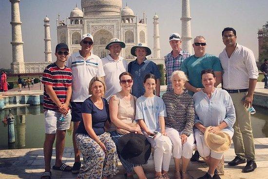 Tour de día completo por Agra con Taj...