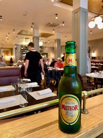 Cote Brasserie - Glasgow: French beer.