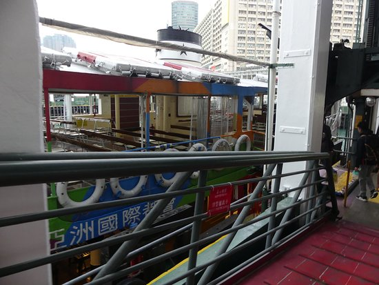 On the way to board the Star Ferry 3