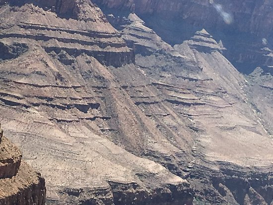 Sundance Helicopters: Canyon walls.