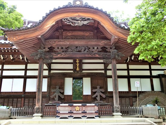 Jindai-ji Temple Hondo
