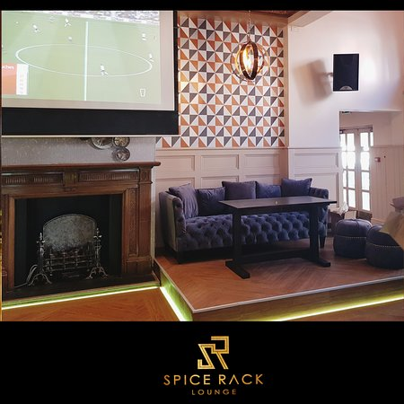The newly refurbished Spice Rack Lounge, May 2019