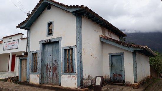 Catas Altas, MG: Capela do Senhor do Bonfim - século XVIII
