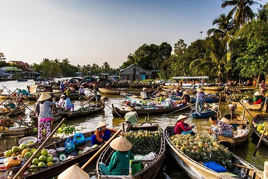 Medium group 2-day Mekong delta Tour...