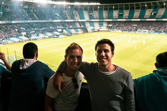 Fotballkamp hos Racing, Independiente...