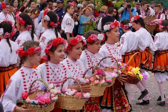 Best of the Rose Festival i Bulgaria