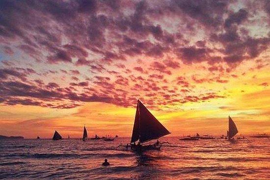 长滩岛跳跃之旅和日落体验