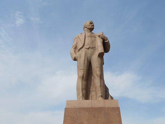 Lenin Square: Lenin Square, Chita, Russia. 