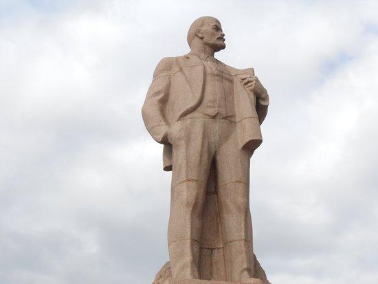 Lenin Square, Chita, Russia.