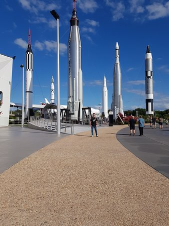 The Rocket Garden at the KSC Visitor Complex