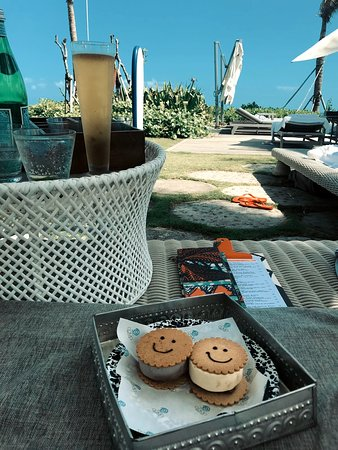 Schöner Beach Club zum Entspannen :)