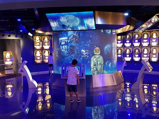 The US Astronaut Hall of Fame at the KSC Visitor Complex