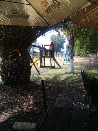 Amplio lugar para disfrute de los mas pequeños