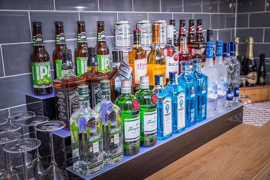 Holiday Inn Express Exeter - City Centre: Bar/Lounge