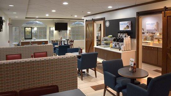 Holiday Inn Express Mt. Pleasant-E Huntingdon: Restaurant