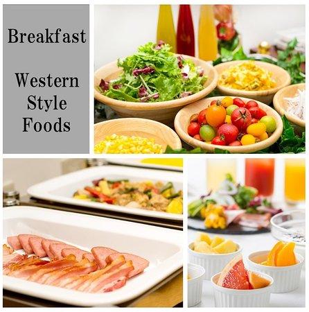 朝食ブッフェ一例 Breakfast Example