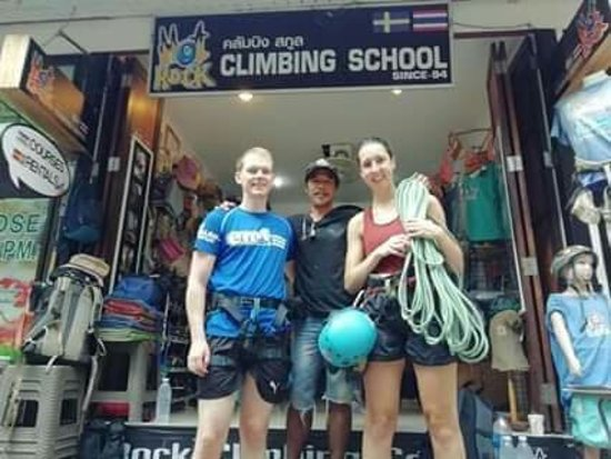Hot Rock Climbing School