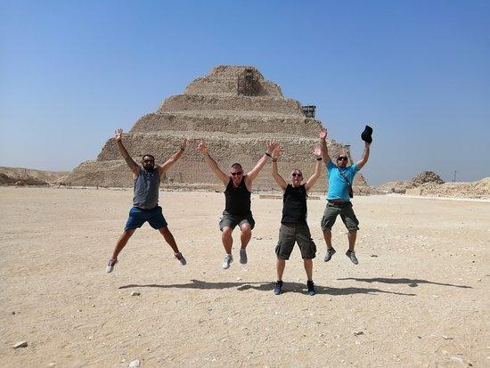 Private Tour to Giza Pyramids and The Egyptian Museum: Sakara Pyramids