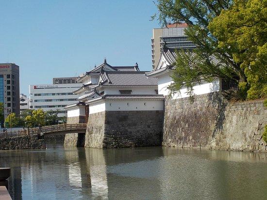 Istana Shizuoka: moat and entry tower