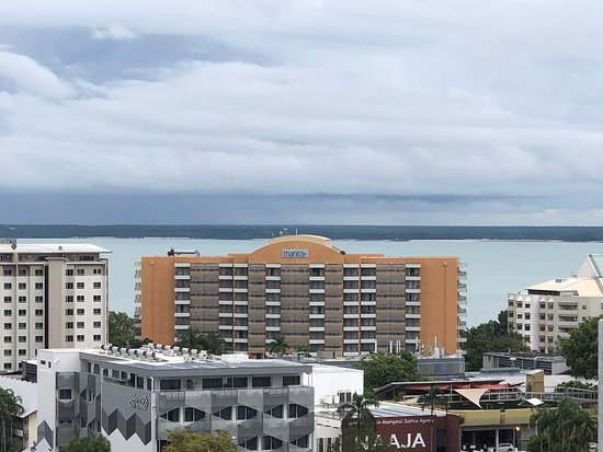 April 2019 - view from mid floor one bedroom balcony apartment