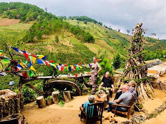 Đó là câu chuyện kể bên tách cà phê của những người bạn đến thăm nhà TSC.   The Story Coffee cung cấp những gói cà phê sạch, nguyên chất từ vườn cây thuận tự nhiên, không hoá chất độc hại, với mong muốn mang đến một dòng sản phẩm đậm hương vị núi rừng Dalat, tốt cho sức khỏe.